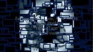 "Fat Joe ""Yellow Tape"" ft. Lil Wayne, A$AP Rocky, French Montana ChipMunk Version w/Lyrics (Explicit)"