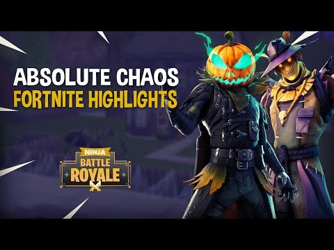 Absolute Chaos!! - Fortnite Battle Royale Highlights - Ninja
