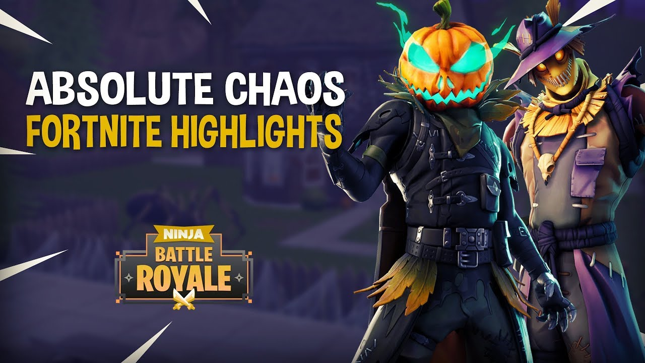 Absolute Chaos Fortnite Battle Royale Highlights Ninja Youtube
