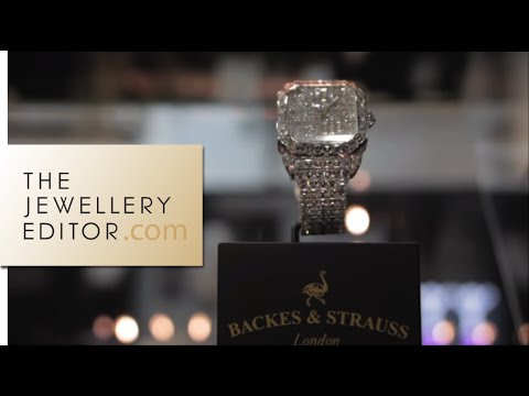 World's finest diamond watches: Backes & Strauss watches
