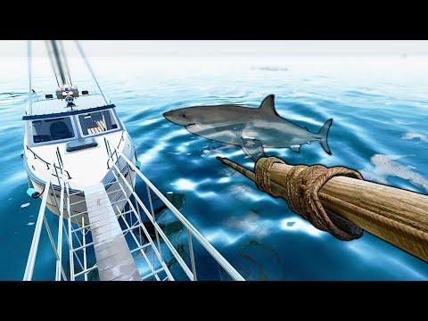 PESQUEI um TUBARÃO em ALTO MAR! Fishing North Atlantic |