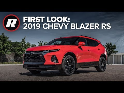 All New 2019 Chevy Blazer Rs First Look Youtube