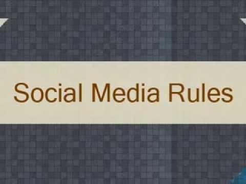 Social Media Rules - Innomax Media LLP, Singapore