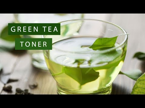 DIY Korean Secret for glowing skin | Green Tea Face Toner