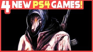 4 NEW PS4 GAMES JUST REVEALED - UPCOMING GAMES YOU SHOULD KNOW ABOUT!