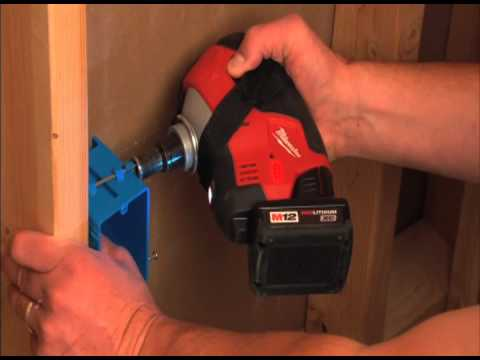 MILWAUKEE M12™ Cordless Lithium-Ion Palm Nailer Kit Model# 2458-21