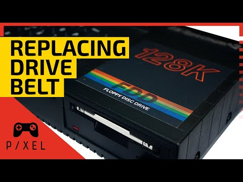DRIVE BELT Replacement :: ZX Spectrum 128K +3 | PXTNG Repair Shop