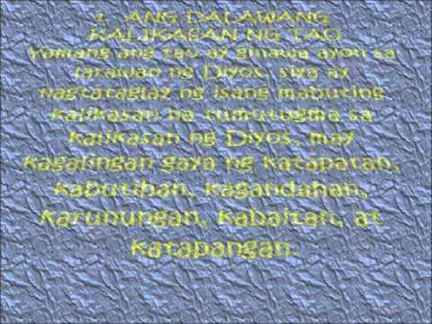 Mystery of Human life (tagalog)