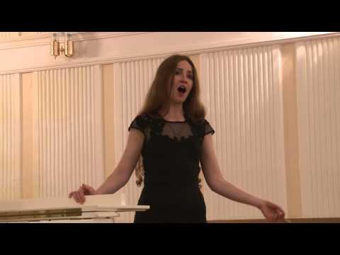 Lubov Frankova, Coloratura Soprano - V. Bellini aria di Amina - Oh, se una volta sola