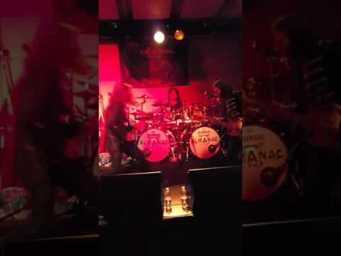 Almanac (Victor Smolski) live - Ljubljana,  Orto bar,  February 8th 2017