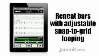 "Jammit ipad iphone app No Doubt Video Spiderwebs ""learn to play guitar"""