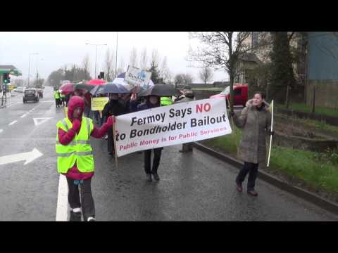 The 3rd Anniversary Ballyhea bond holder bailout protest march