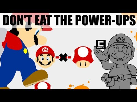 6 Tips, Tricks and Ideas for Don't Eat the Power Ups Stages in Super Mario Maker.