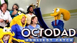 Repeat youtube video Octodad: Dadliest Catch is AWESOME! - 4-player co-op!