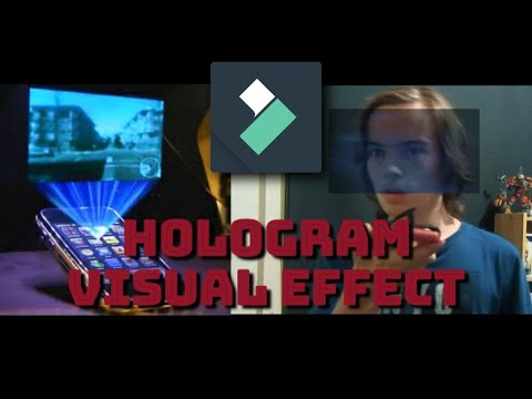 Hologram Effect In Wondershare Filmora X! - Tutorial (Motion Tracking!)