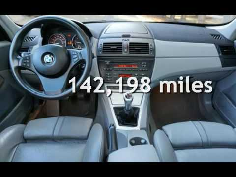 2005 bmw x3 3 0i 6 speed manual transmission for sale in rh youtube com 2005 BMW X3 Service Manual BMW X3 E83 Rear Bumper Protector