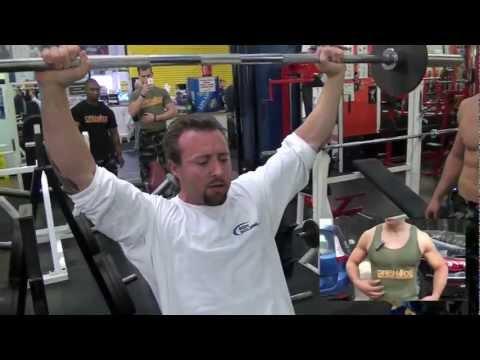 Kris Gethin & Team Grenade Ab Workout Bodybuilding.com