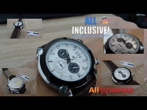 Часы Megir из Китая. Megir в стиле Panerai