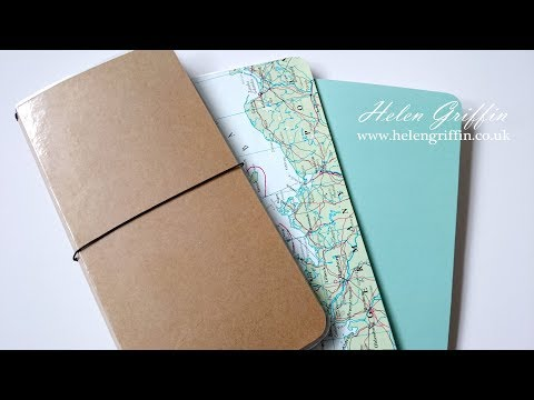 Atlas/Map Covers For Traveler's Notebook/Journal