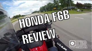 2013 honda f6b deluxe test ride