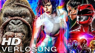 KONG SKULL ISLAND & GHOST IN THE SHELL & POWER RANGERS - Verlosung