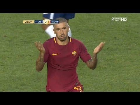 Aleksandar Kolarov vs Tottenham - Debut AS Roma - Friendly 25/05/2017