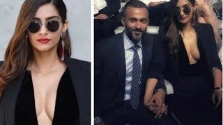 Sonam Kapoor Boldest Avtaar Post Marriage at Mila Fashion Week with Hubby Anand Ahuja