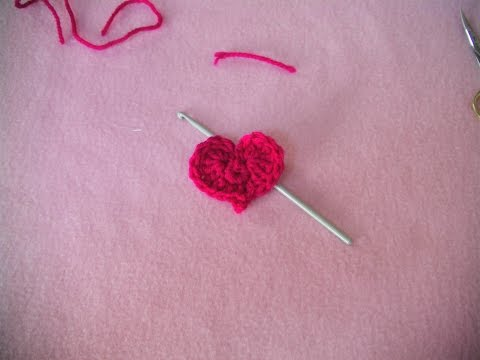 Πλεκτη Καρδια/ Crochet Easy Heart Tutorial