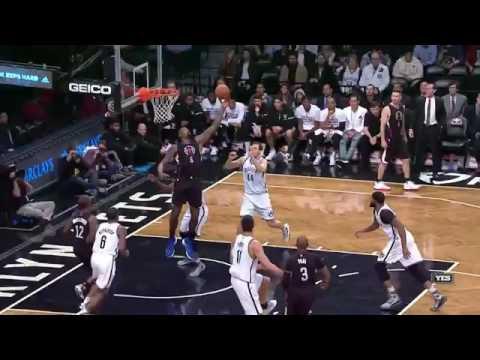 DeAndre Jordan's No Look Layup   Clippers vs Nets   November 29, 2016   2016 17 NBA Season