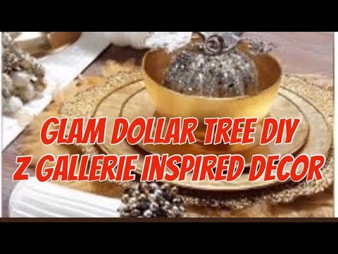 Glam Dollar Tree DIY Zgallerie Inspired Decor 2018