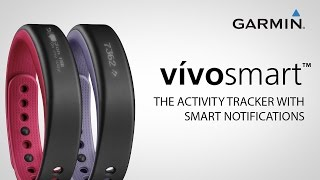 03. Garmin vívosmart: Activity Tracker Plus Smart Notifications