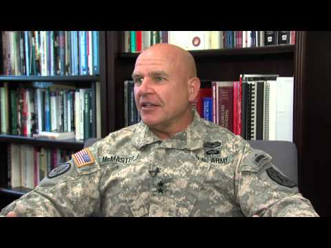 Exclusive Interview  MG H.R. McMaster Part 1