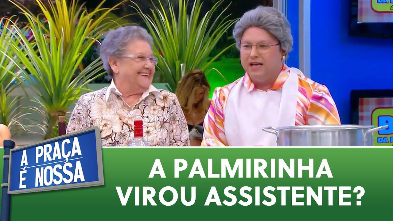 Dessa vez foi a Palmirinha que aprendeu uma receita nova | A Praça é Nossa (19/11/20)