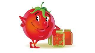 Как приготовить помидоры в собственном соку на зиму. Простой рецепт без стерилизации и без уксуса.