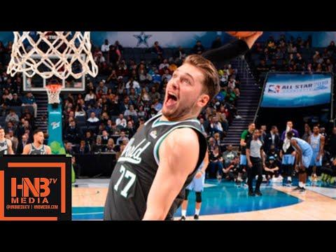 Luka Doncic (13 pts) Full Highlights | 2019 NBA Rising Stars Game