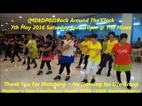 (MDLDP02)Rock Around The Clock By Unknown (Line Dance)