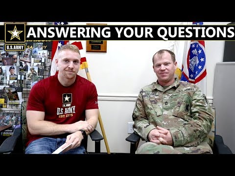 Q&A With Army Recruiter!! | Best Time Of The Year To Join?!?!