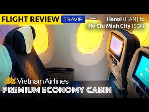 Vietnam Airlines Airbus A350 Premium Economy: Hanoi to Ho Chi Minh City | Travip Flight Review