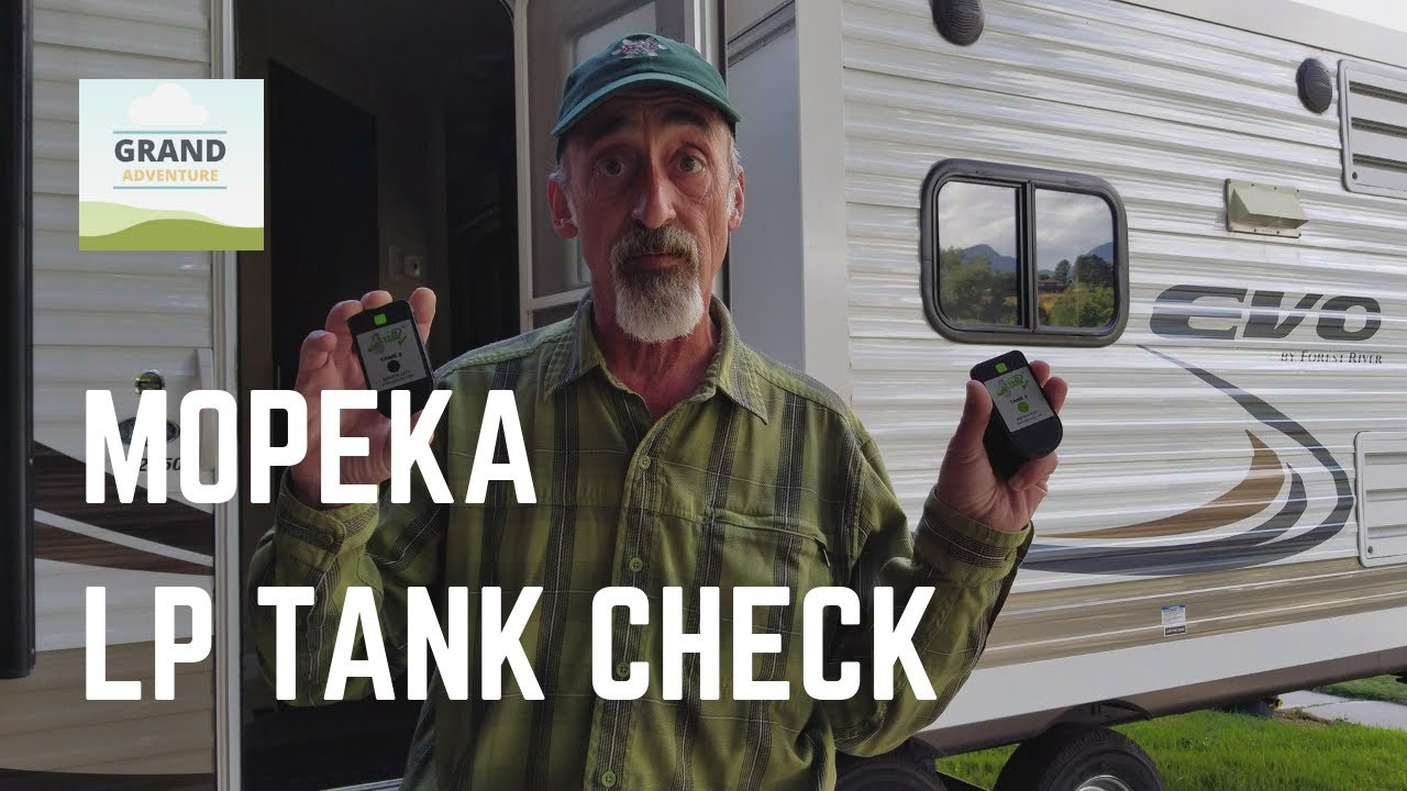 Ep. 4: Mopeka LP Tank Check from AP Products - Review and Installation | RV Propane tips