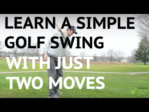 Learn A Simple Golf Swing In 2 Moves – Push and Pull