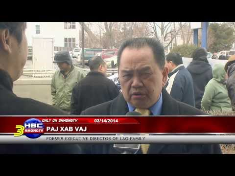 Watch Now:  Hmong protest at Lao Family (filed by Kabyeej Vaj for 3HMONGTV.)