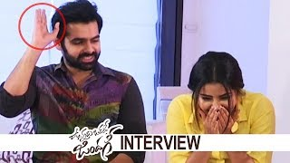 Vunnadhi Okate Zindagi Movie Team Super Funny Interview | Fun Chit Chat | TFPC