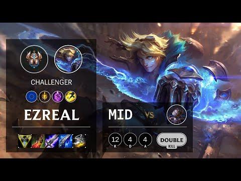 Ezreal Mid vs Orianna - EUW Challenger Patch 10.18