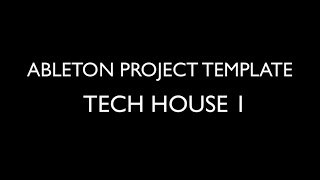 TECH HOUSE 1 - PROJECT TEMPLATE