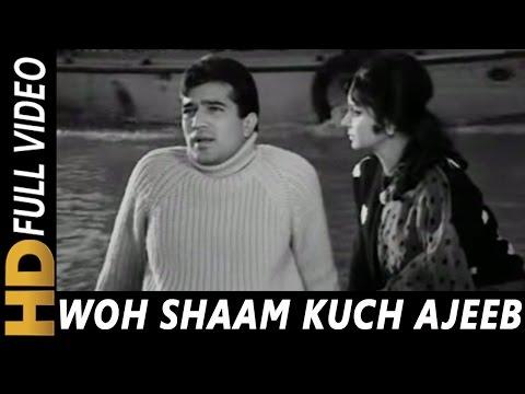 Woh Shaam Kuch Ajeeb Thi | Kishore Kumar | Khamoshi 1969 Songs | Waheeda Rehman, Rajesh Khanna