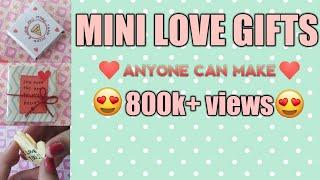 Mini Love Gifts anyone can make! | Love gifts | miniature| Craft