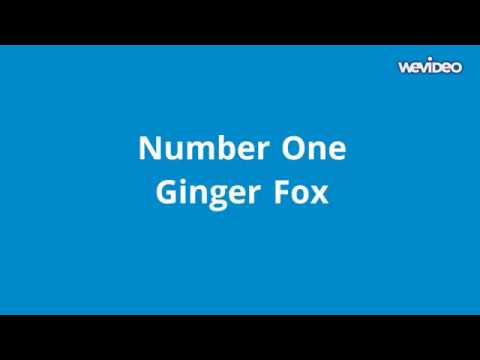 Ginger Fox - Number One (audio)