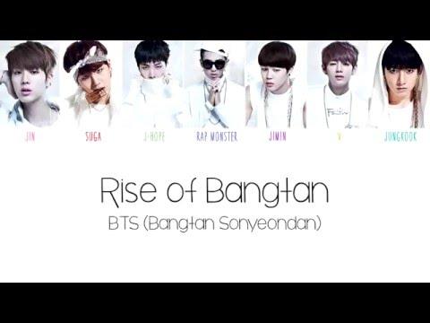 BTS (방탄소년단) - Rise of Bangtan Color Coded English Lyrics