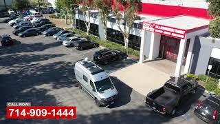 Mercedes Benz Camper Van Collision Repair  OCRV CenterYorba Linda