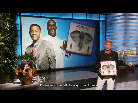 a Nico & Vinz story - from Fashion Rocks to Ellen